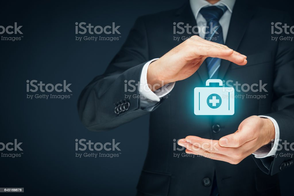 Medical (health) insurance concept stock photo