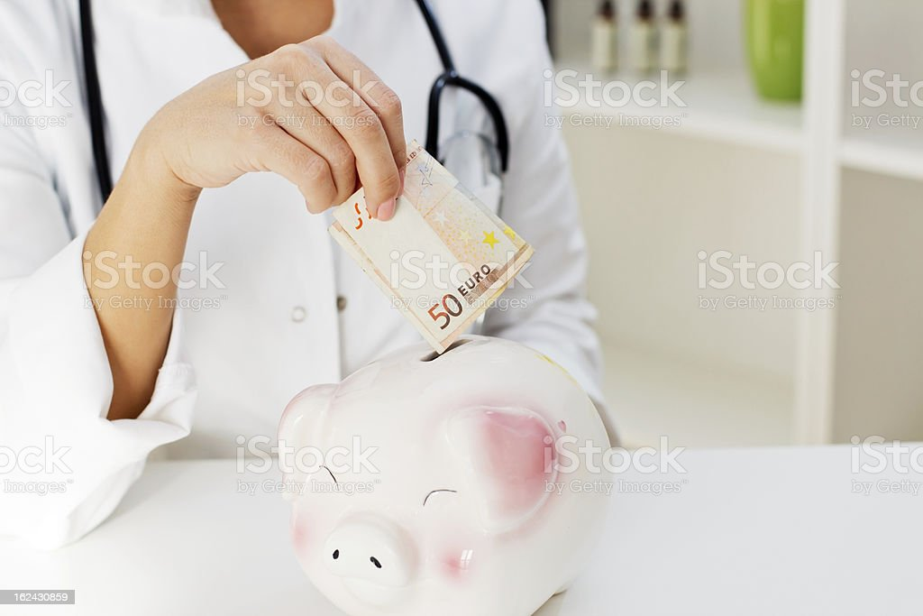 Medical Insurance royalty-free stock photo