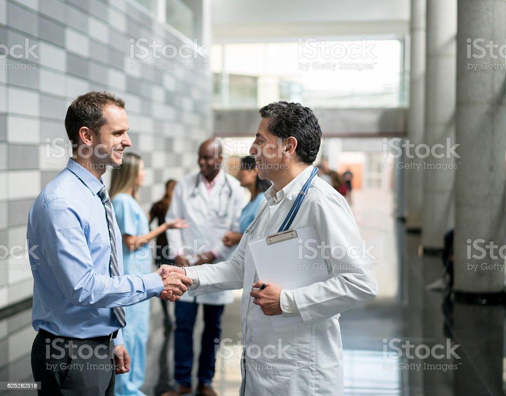 Medical insurance - Lizenzfrei Abmachung Stock-Foto