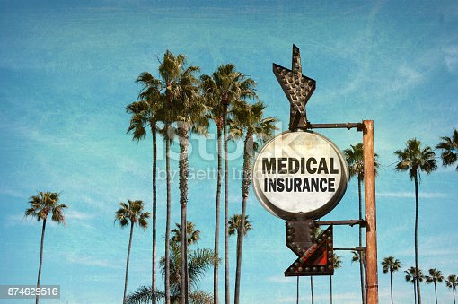 istock medical insurance sign 874629516