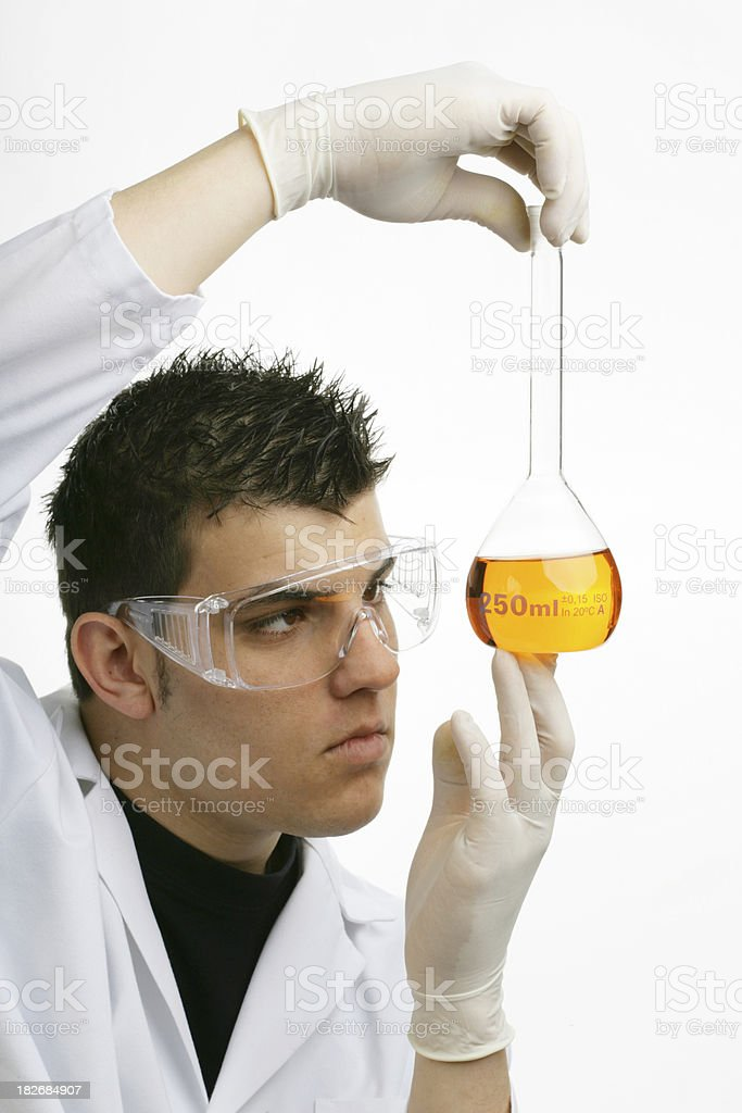 Medical investigation royalty-free stock photo