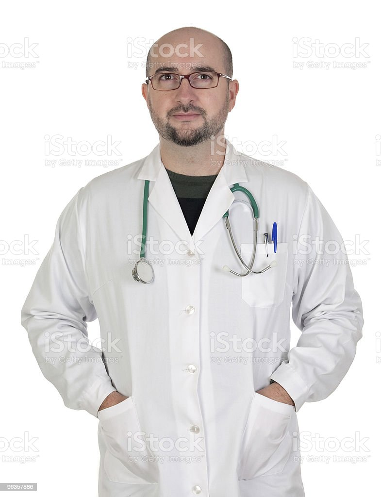 Medical isolated royalty-free stock photo