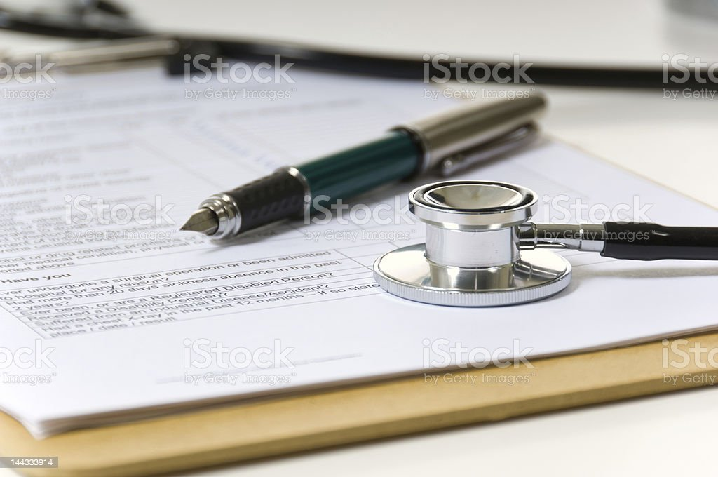 Medical items royalty-free stock photo