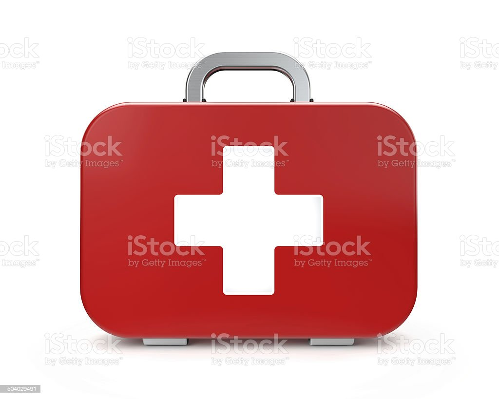 medical kit stock photo
