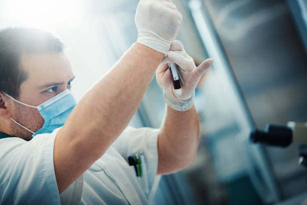Medizinische Labortests. – Foto