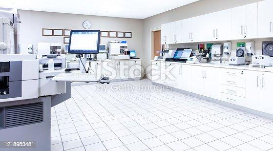 Medical laboratory and machinery, COVID-19