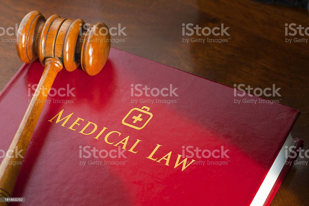 Medical Law stock photo