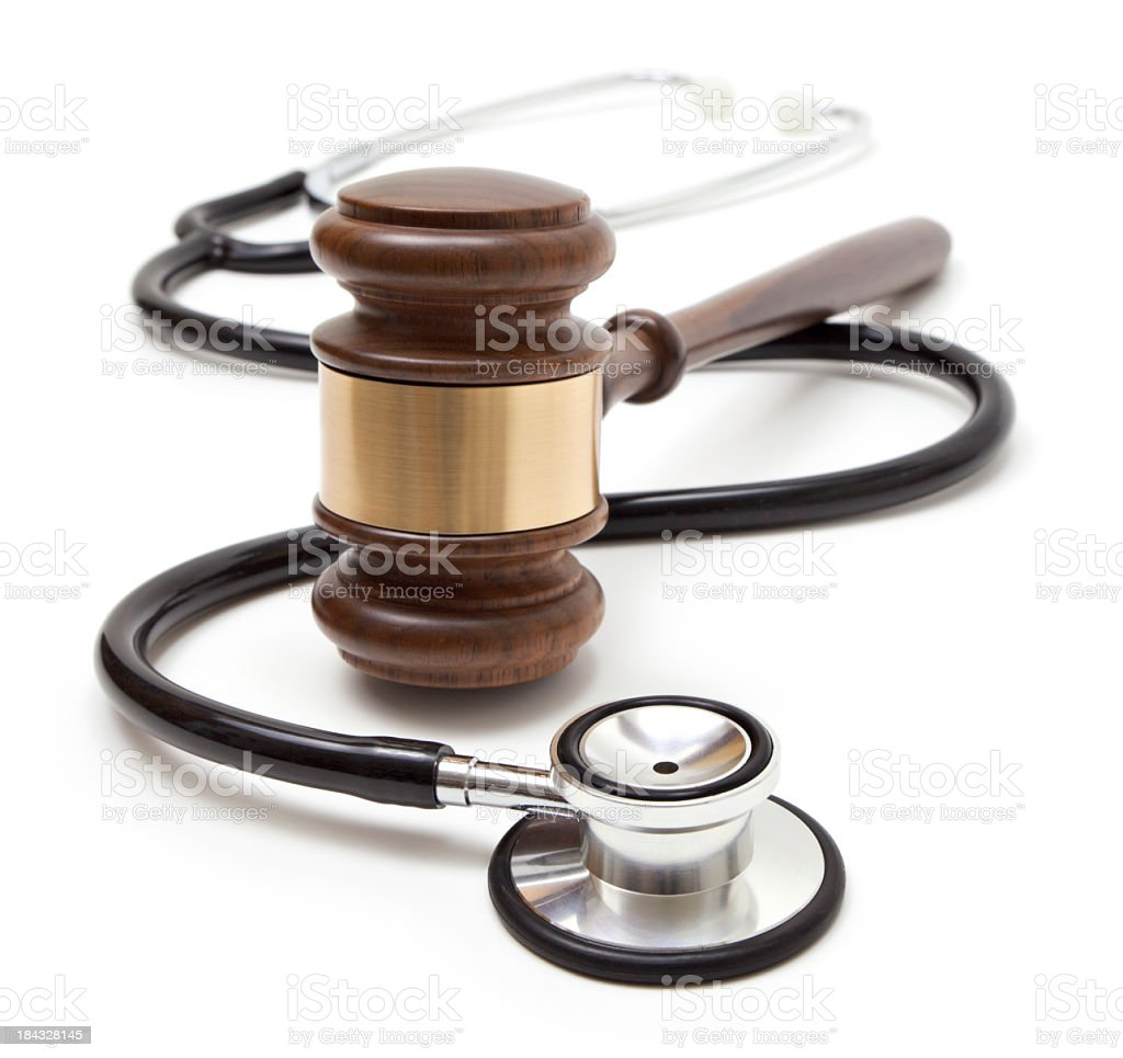 Medical law royalty-free stock photo