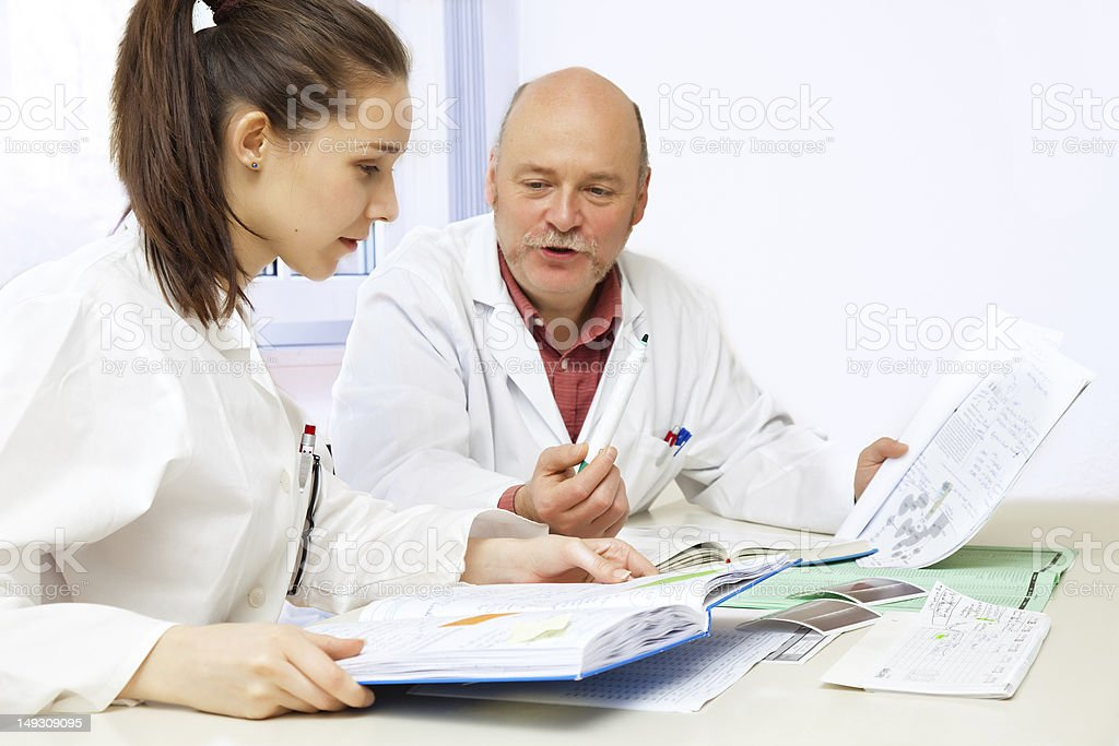 medical lesson royalty-free stock photo