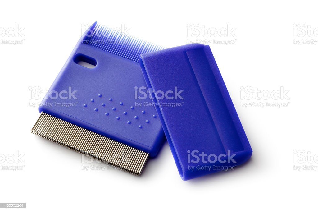 Medical: Lice Comb stock photo