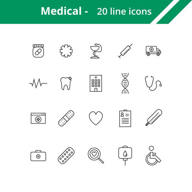 Medical line icons picture id693394544?b=1&k=6&m=693394544&s=612x612&w=0&h=lilboedggnp2j7qxcymqwvgjjly5vtv 9xvrtvvscdg=