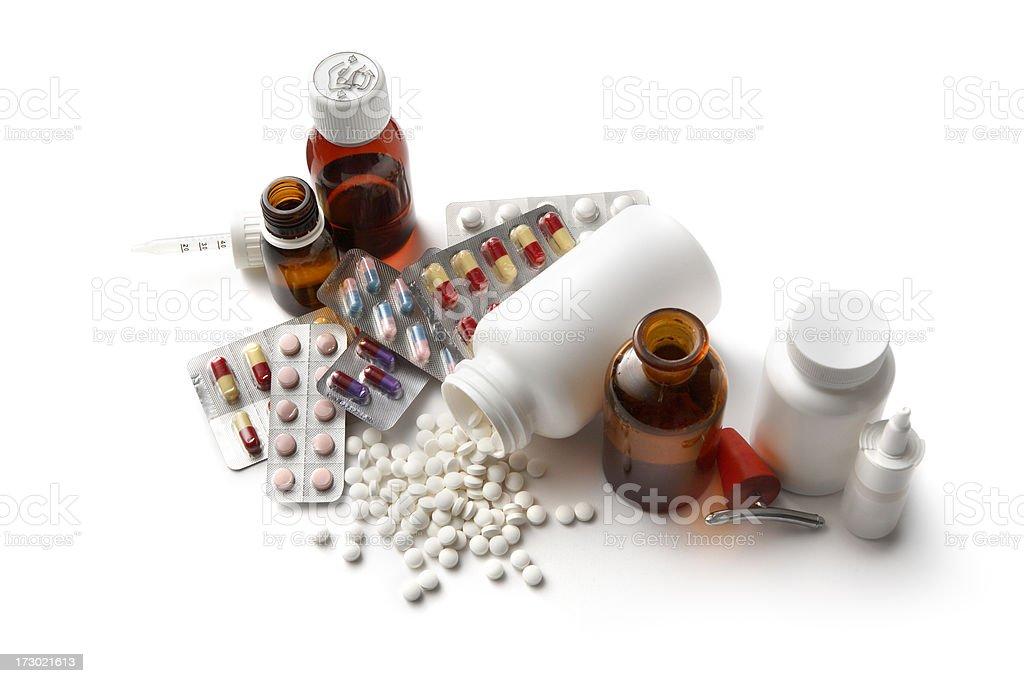 Medical: Medicine royalty-free stock photo