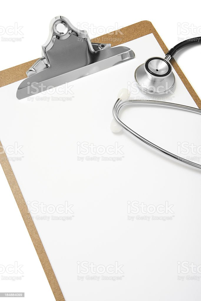 Medical Notes royalty-free stock photo
