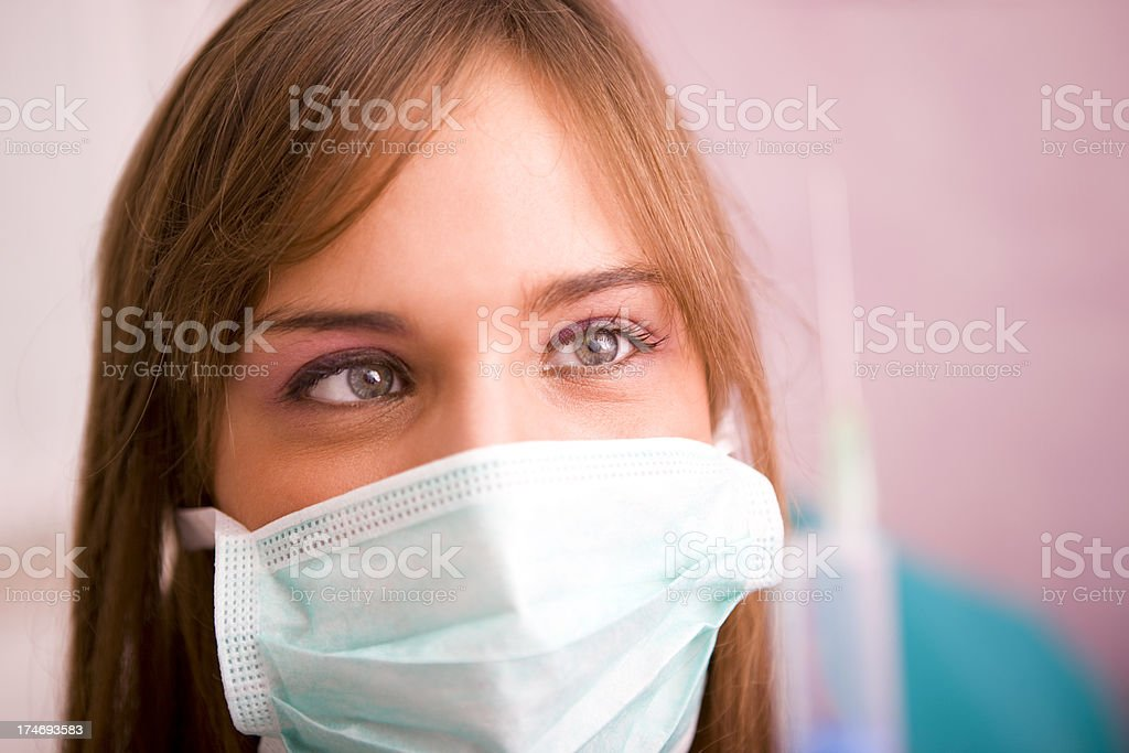 Medical occupation royalty-free stock photo