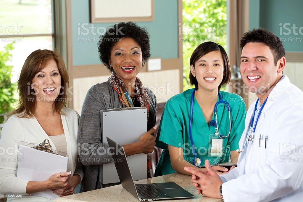 Medical ufficio foto stock royalty-free