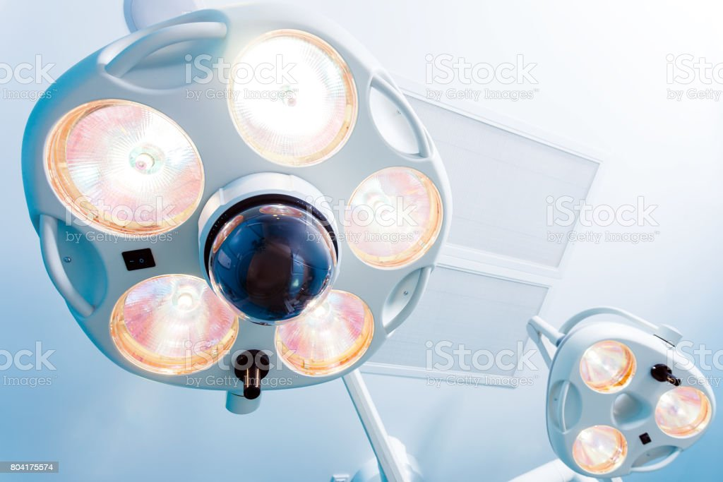 medical operating room stock photo