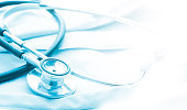 istock Medical or science with soft light background 532963888