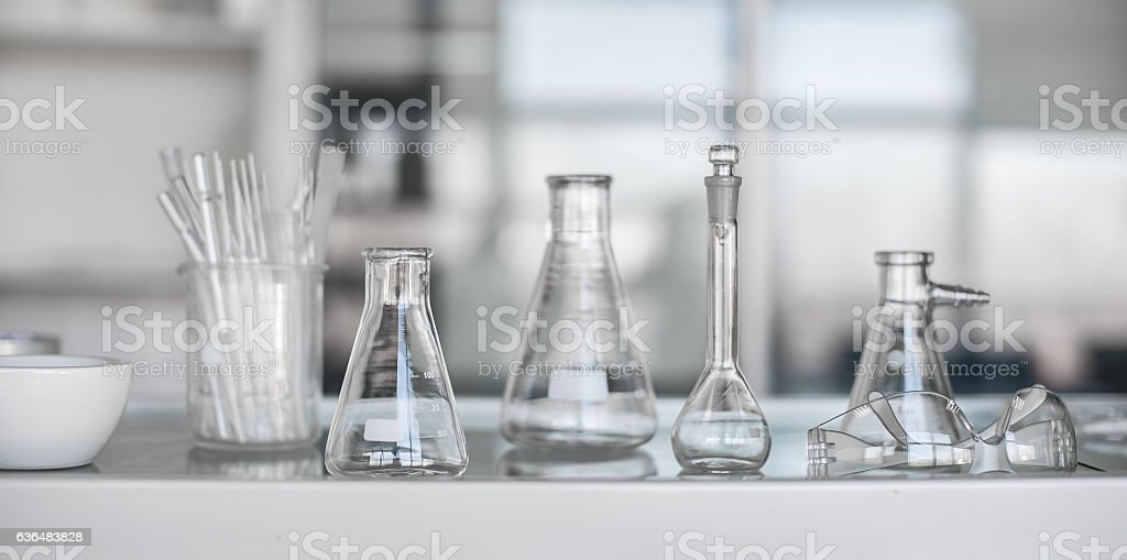 Medical or scientific laboratory equipment stock photo