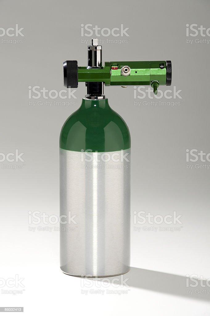 Medical Oxygen Tank royalty-free stock photo