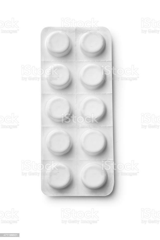 Medical: Paracetamol stock photo