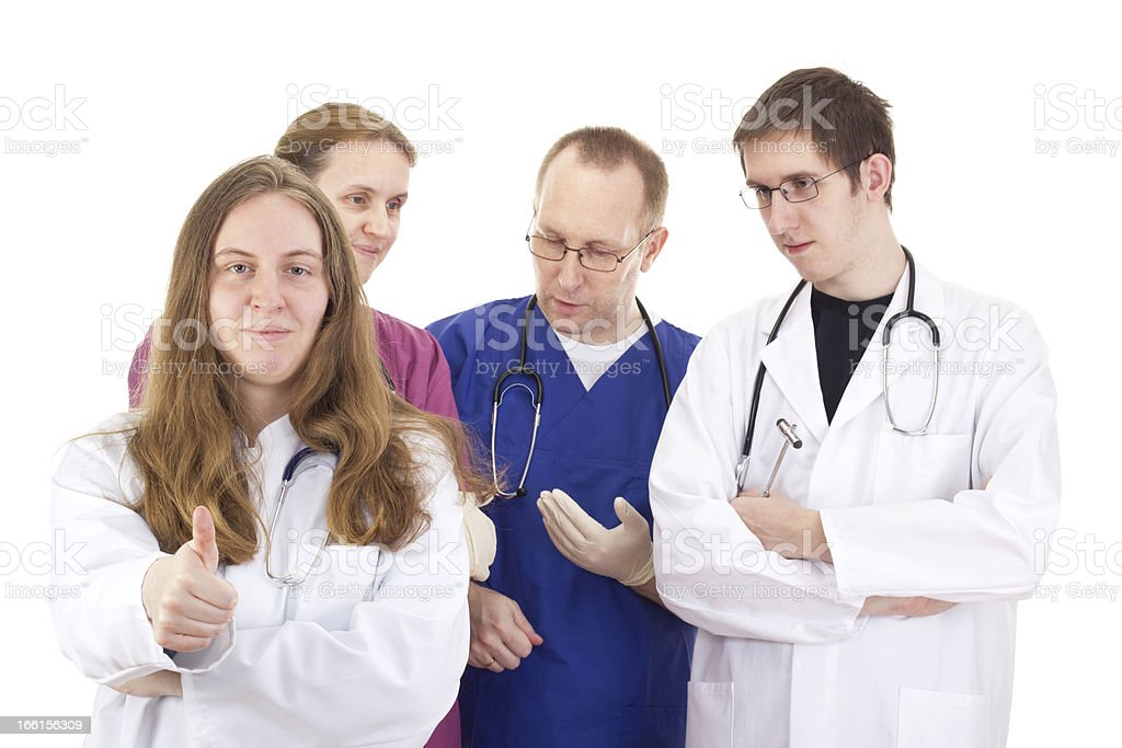 Medical people royalty-free stock photo