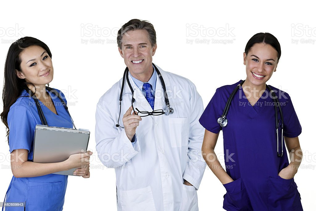Medical personel royalty-free stock photo