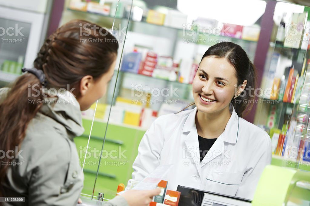 medical pharmacy drug purchase stock photo