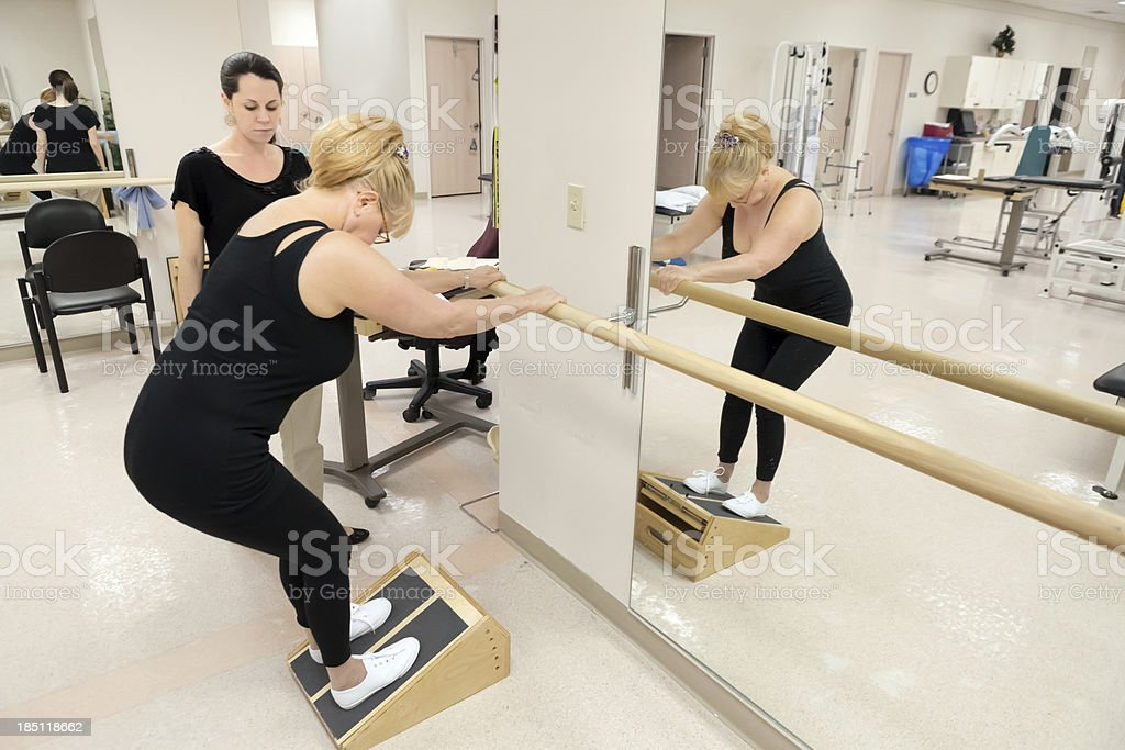 Medical: Physical therapy stock photo