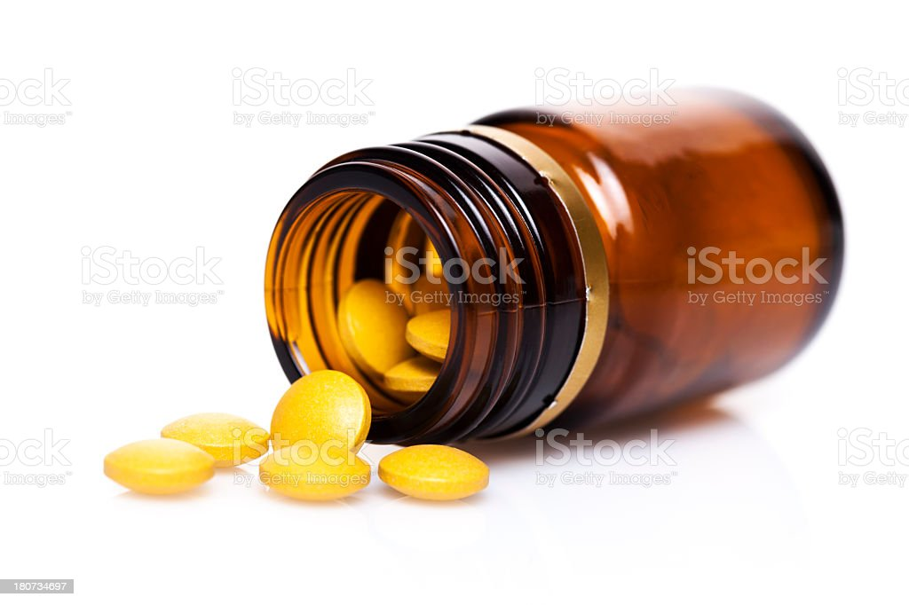 Medical - Pills royalty-free stock photo