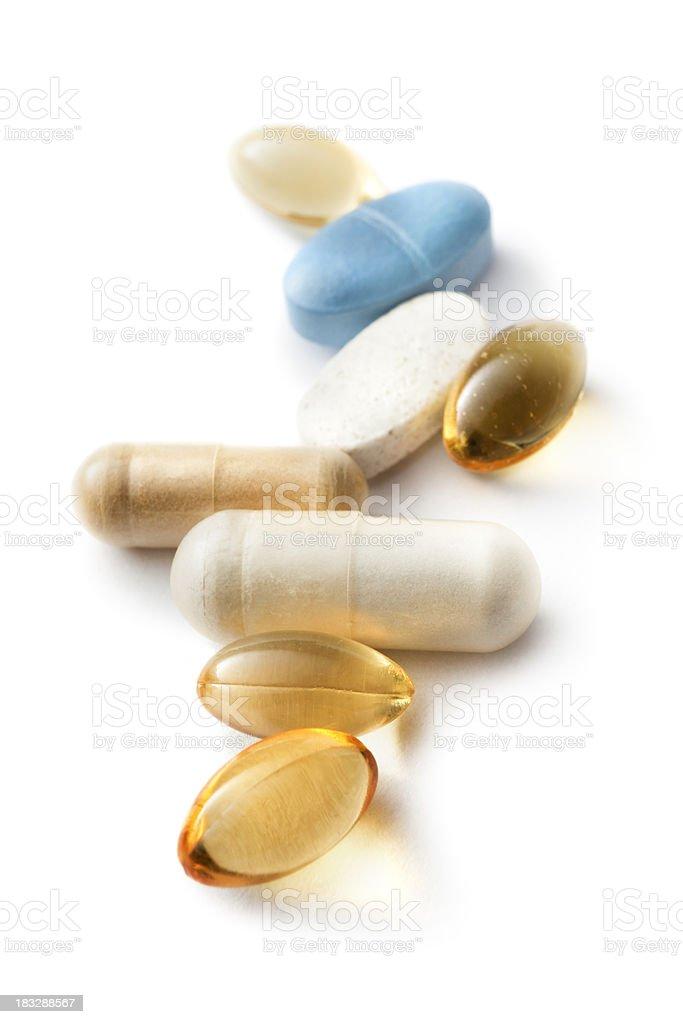 Medical: Pills royalty-free stock photo