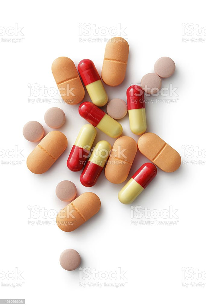 Medical: Pills stock photo