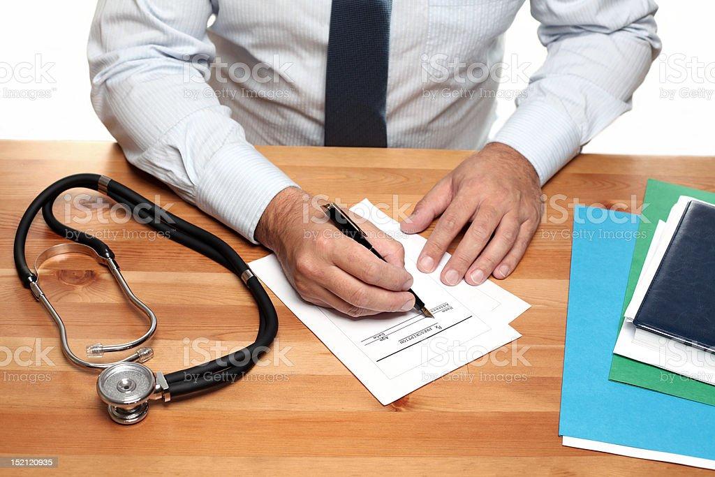 Medical Prescription royalty-free stock photo