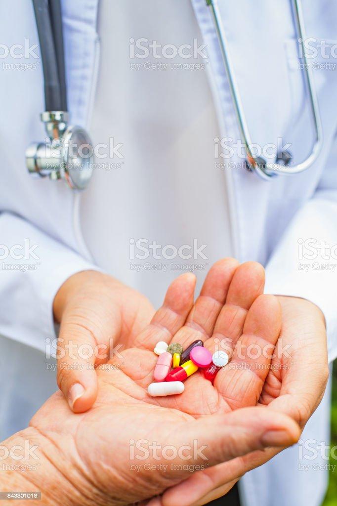 Medizinische Rezept – Foto