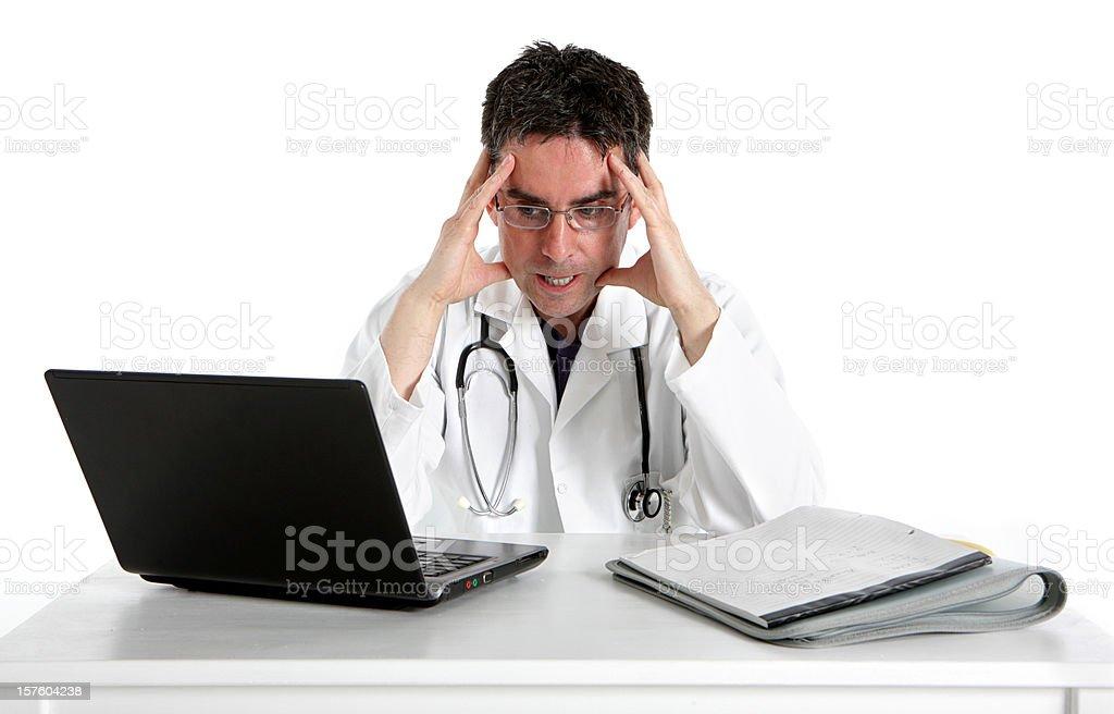 medical pressures stock photo
