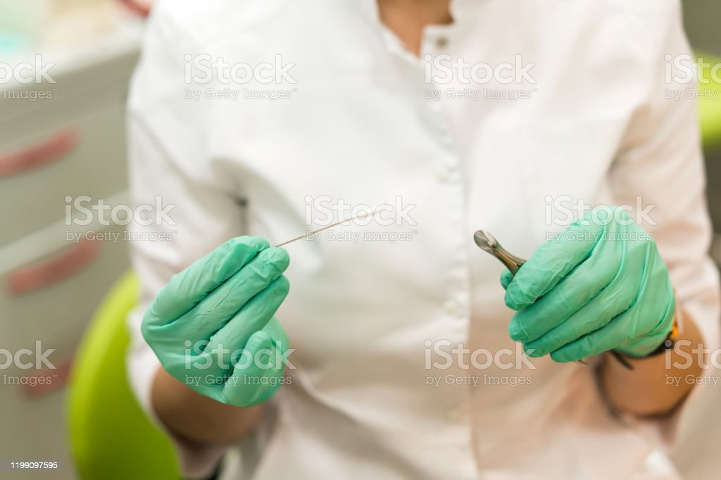Medical Procedures In The Office Of The Ent Specialist Otorhinolaryngologist Doctor Stock Photo Download Image Now Istock