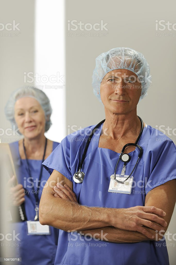 medical professionals royalty-free stock photo