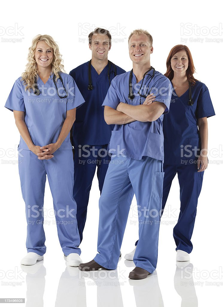 Medical professionals team royalty-free stock photo