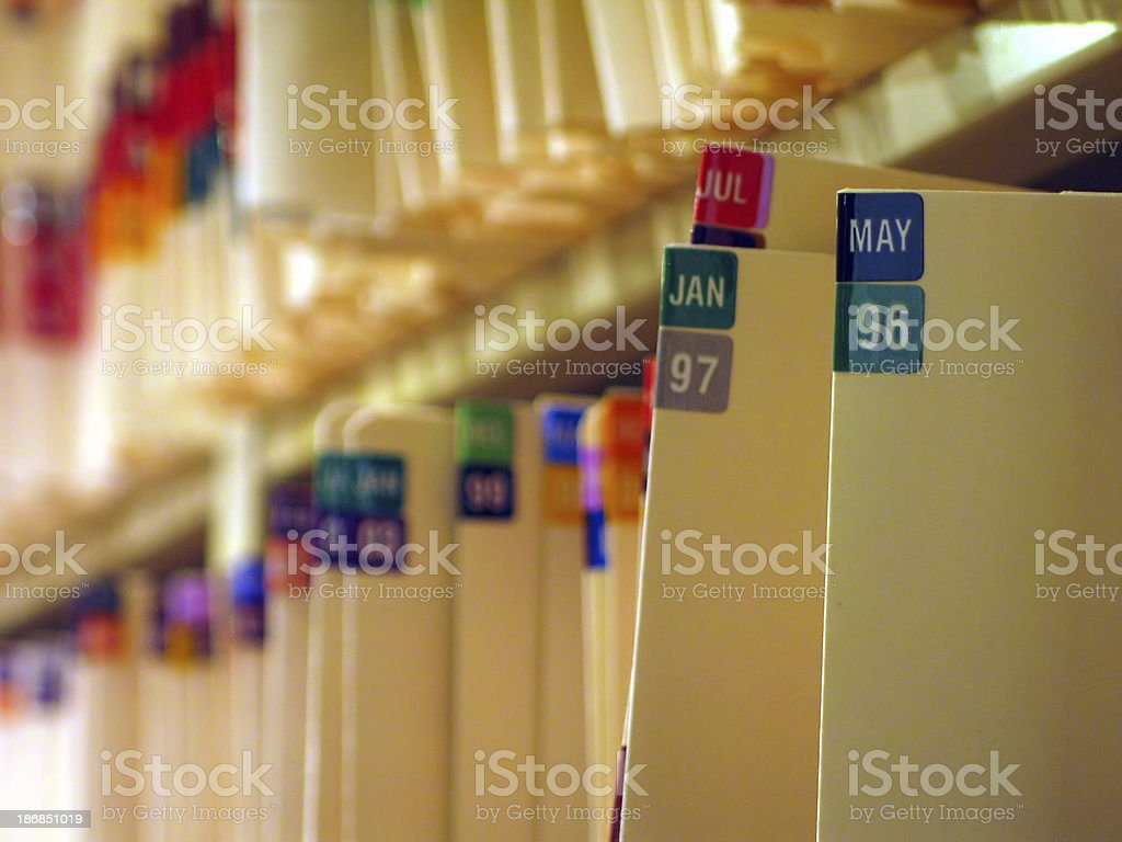 Medical Records 1 stock photo