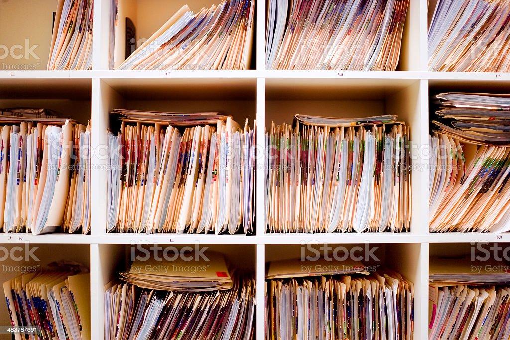 Registros de Médico - foto de acervo