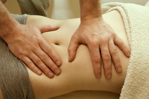 Medical Sap Abdominal Massage Stock Photo - Download Image Now