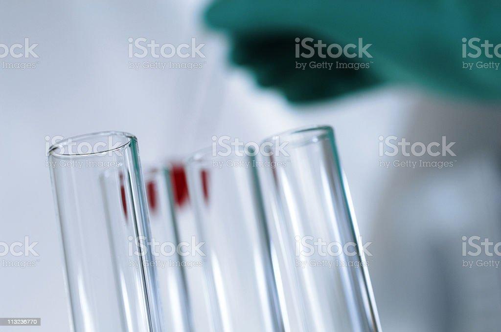 Medical scene, blood test. royalty-free stock photo