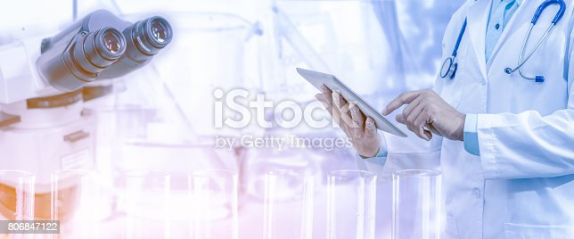 istock Medical science research concept. 806847122