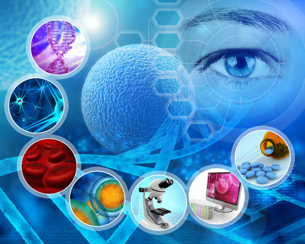 medical science research concept stock photo