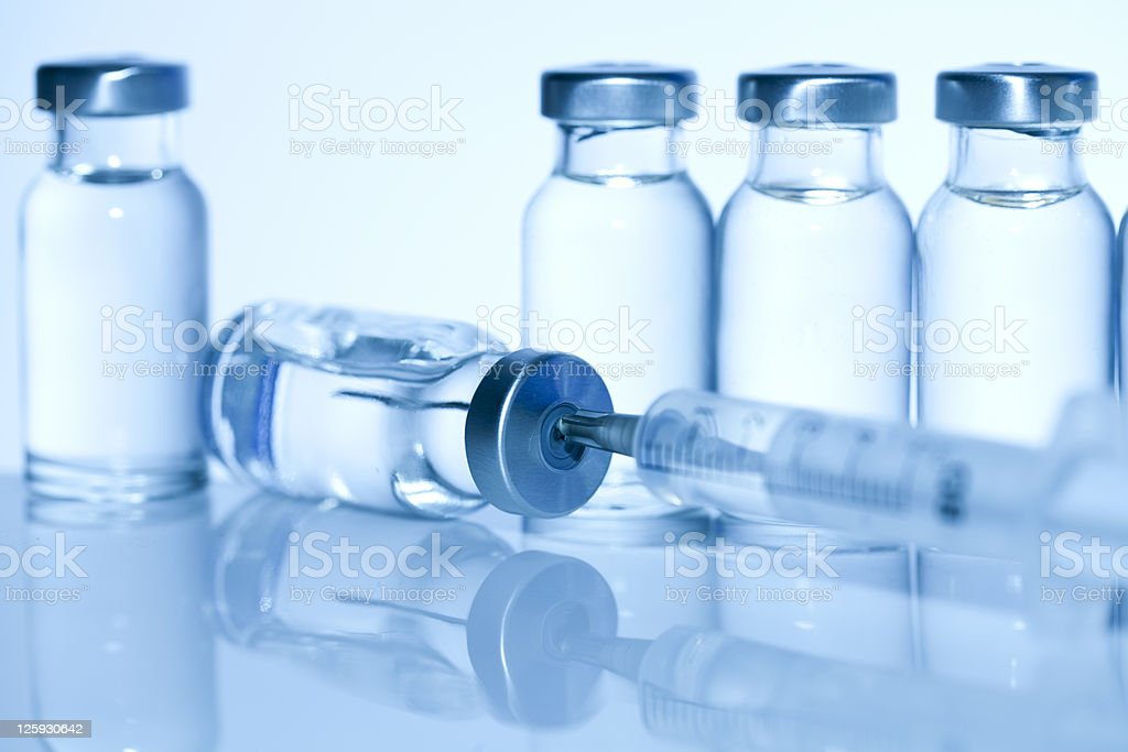 Medical Series--injection royalty-free stock photo