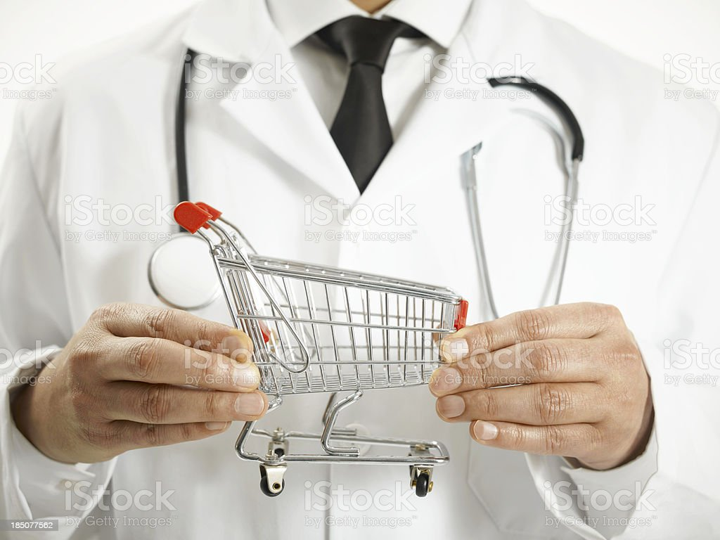 Medical Shopping royalty-free stock photo