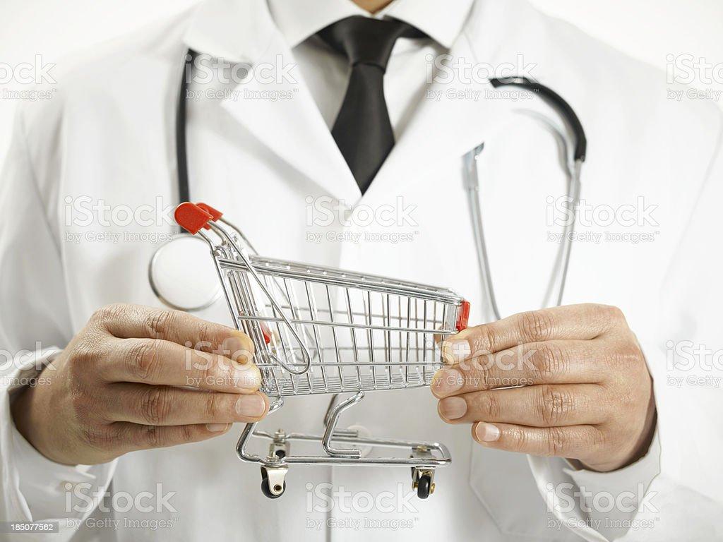 Medical Shopping stock photo