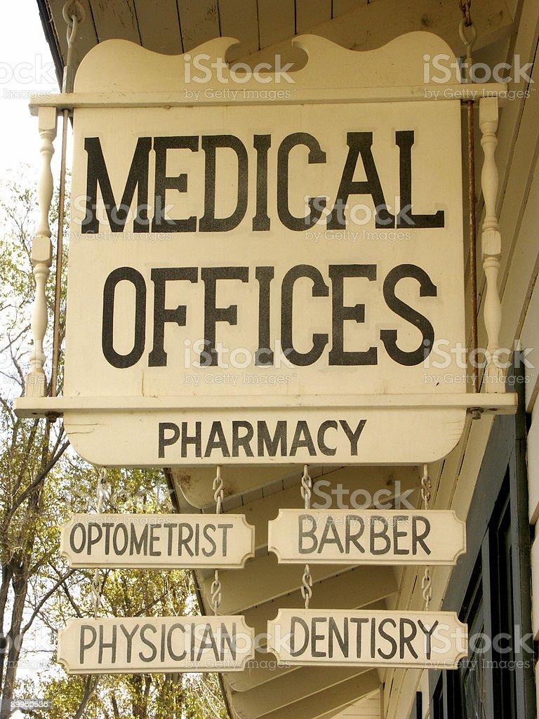 Medical Sign royalty-free stock photo