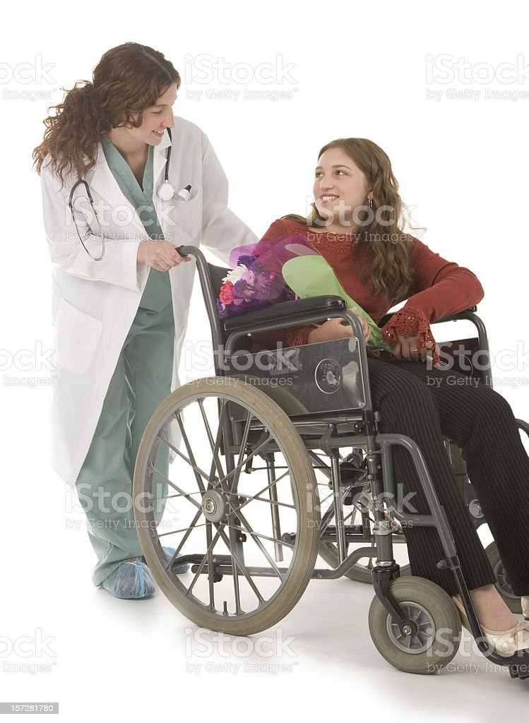 Medical situation royalty-free stock photo