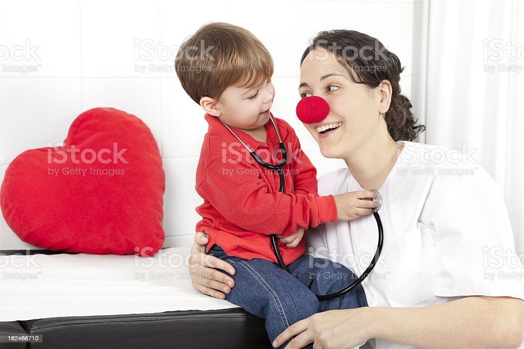 medical smile for the littles royalty-free stock photo