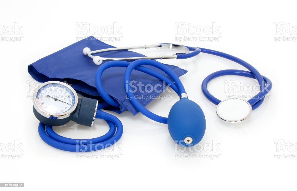 Medical sphygmomanometer - foto stock